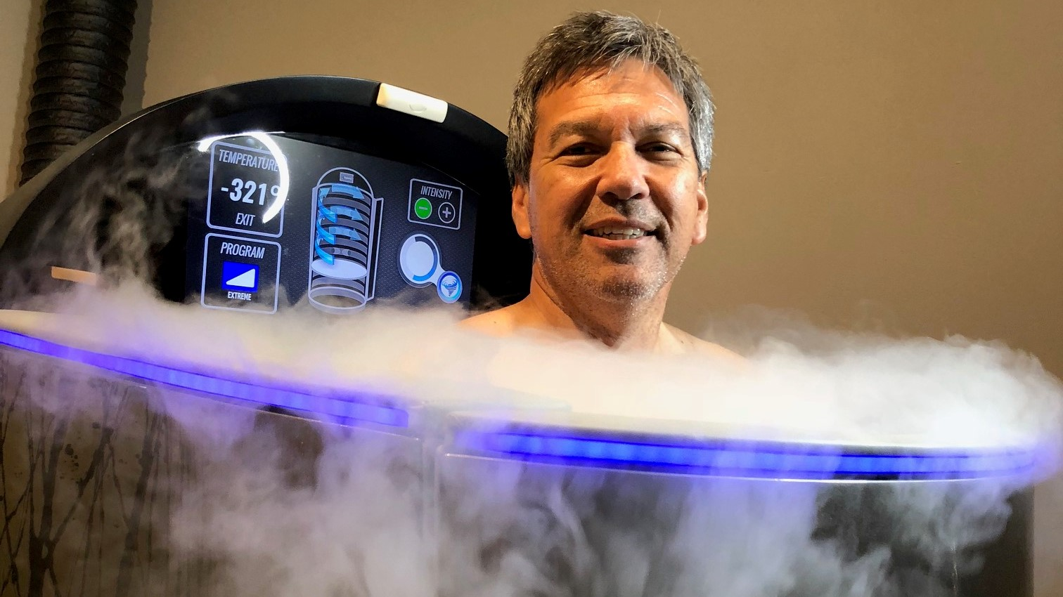 Cryotherapy spa