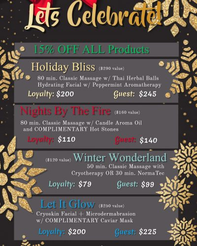 19 December Specials - Made with PosterMyWall