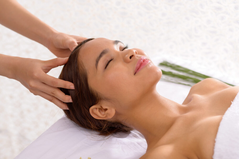 Experience a Blissful Coconut Scalp Massage at Your Local Spa